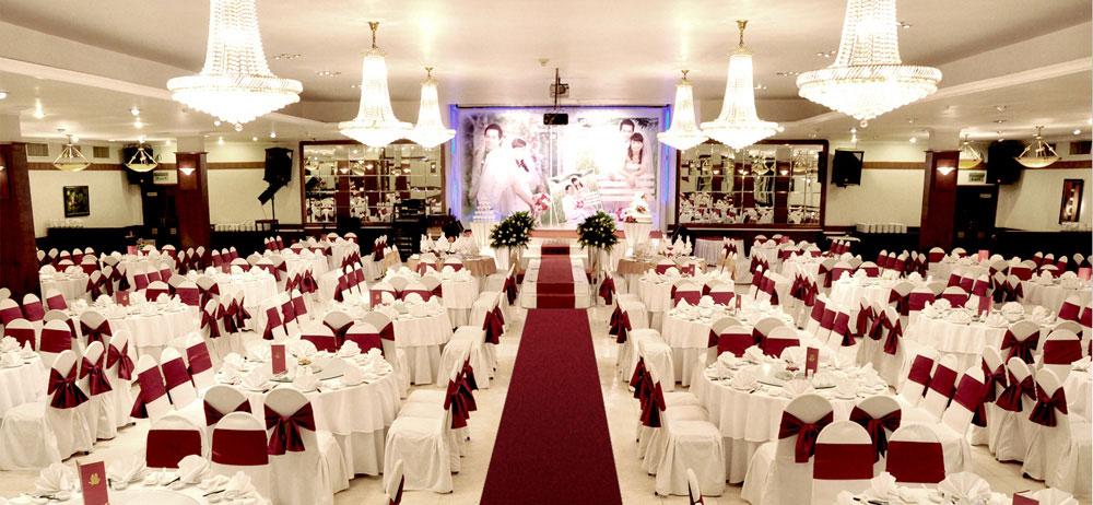Bàn ghế tiệc cưới cao cấp