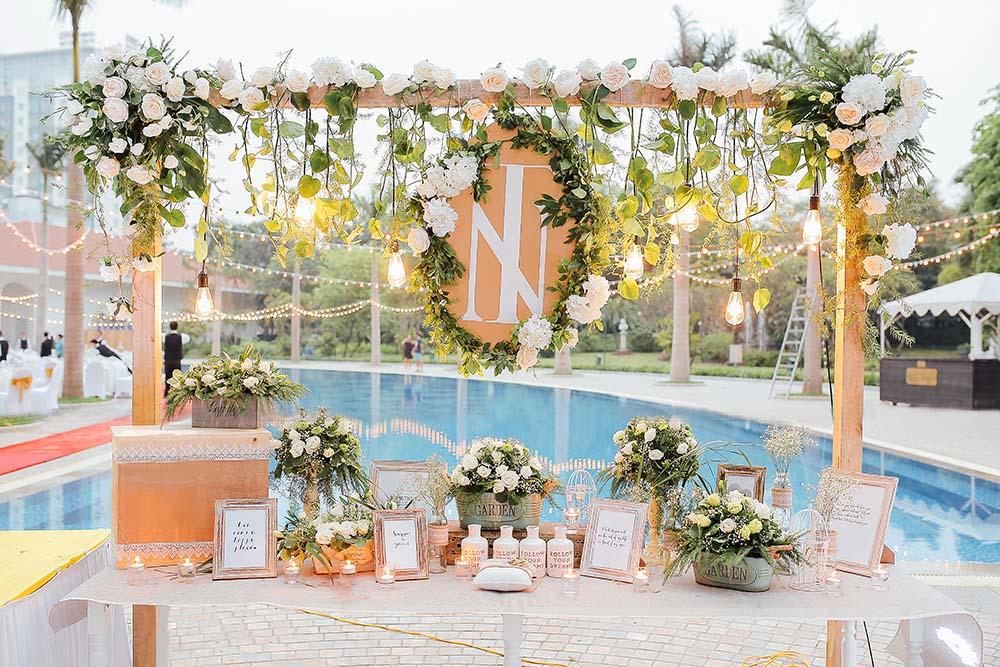 Dịch vụ trang trí đám cưới trọn gói tại Long Biên